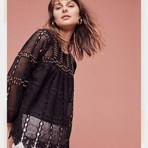 Anthropologie Maeve | Auralis Lace Top